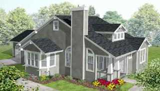 Cottage House Plan With 3 Bedrooms And 2 5 Baths Plan 1798